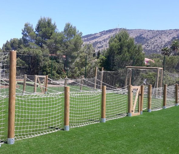 Le football humain Parc de Vacances Magic Robin Hood Alfas del Pi
