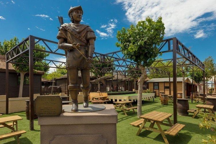 Espaces communs Parc de Vacances Magic Robin Hood Alfas del Pi