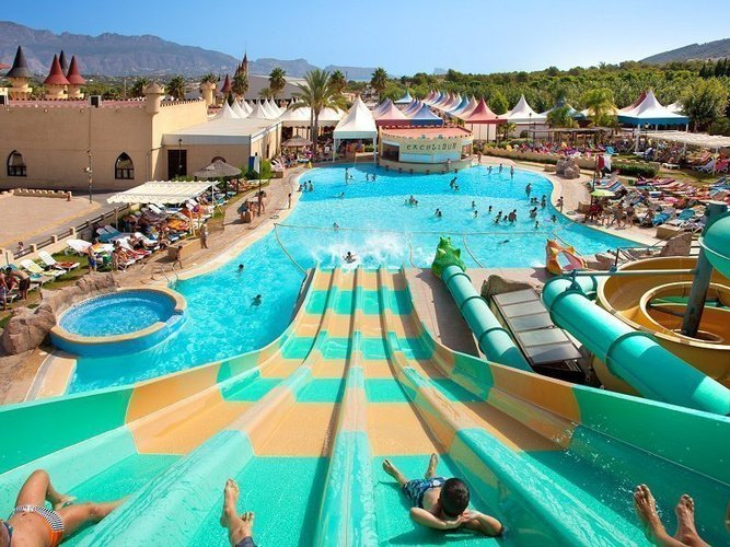 Magic Aqua Experience™ - Multilane Parc de Vacances Magic Robin Hood Alfas del Pi