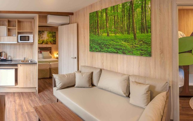Chalet 'new sherwood' 3 chambres parc de vacances magic robin hood alfas del pi